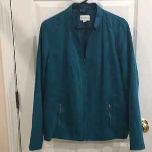 Studio Works faux suede jacket